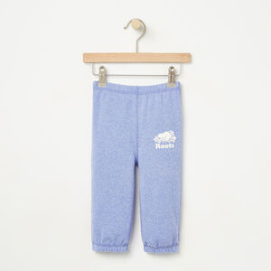 Roots-Kids Bottoms-Baby Roots Sweatpant-Lolite Pepper-A