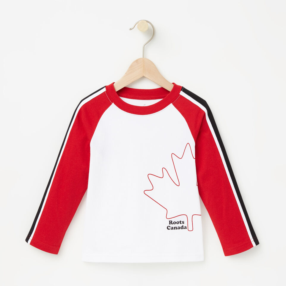 Roots-undefined-Toddler Slater Baseball Top-undefined-A