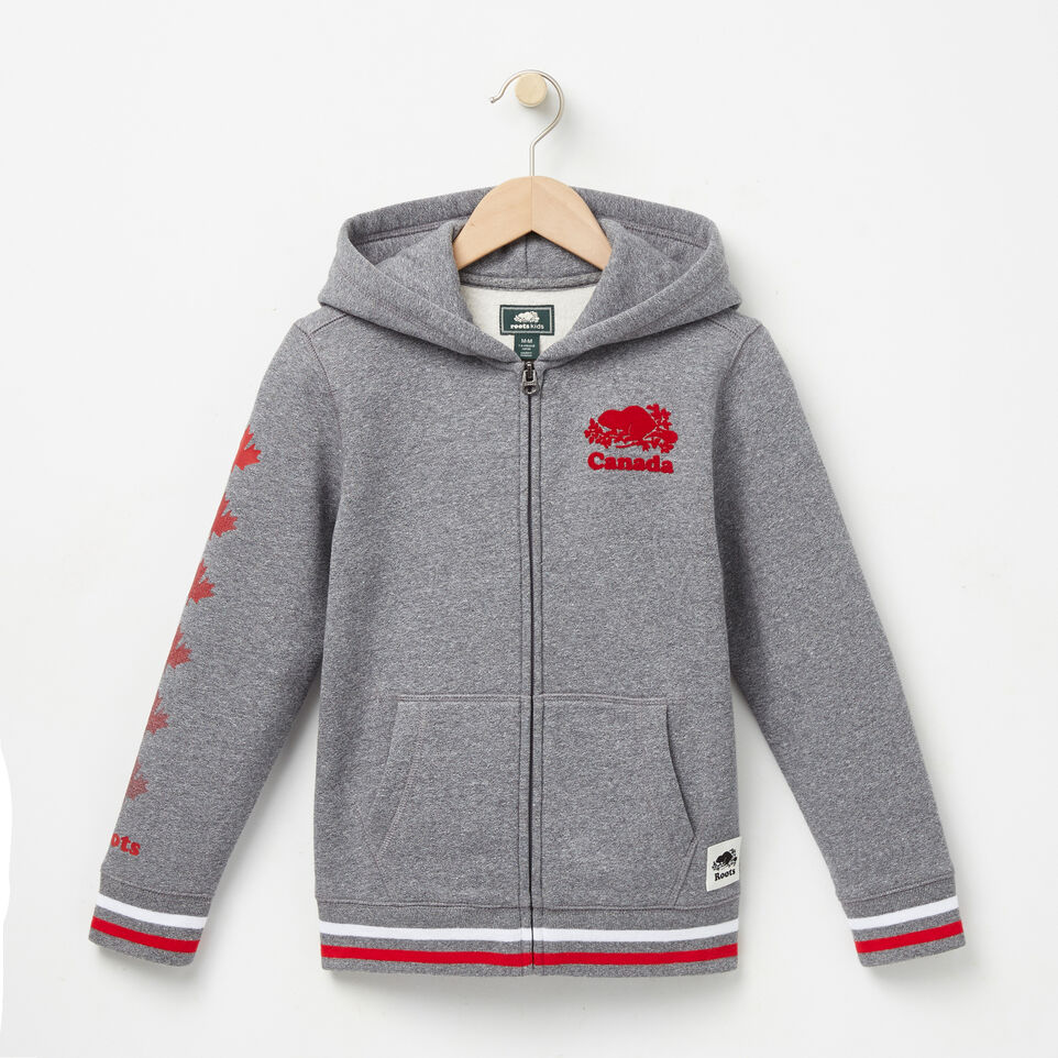 Roots-undefined-Boys Cooper Canada Full Zip Hoody-undefined-A