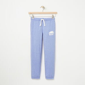 Roots-Kids Bottoms-Girls Slim Roots Sweatpant-Lolite Pepper-A