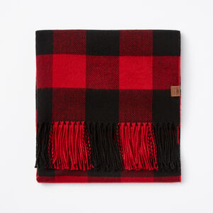 Roots-Men Accessories-Algonquin Scarf-Lodge Red-A