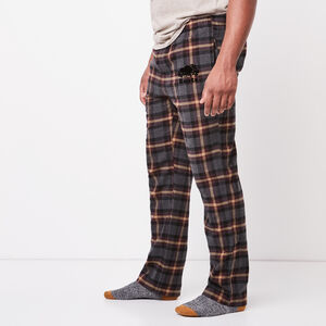 Roots-Men Plaids-Mens Lounge Pant-Charcoal Mix-A