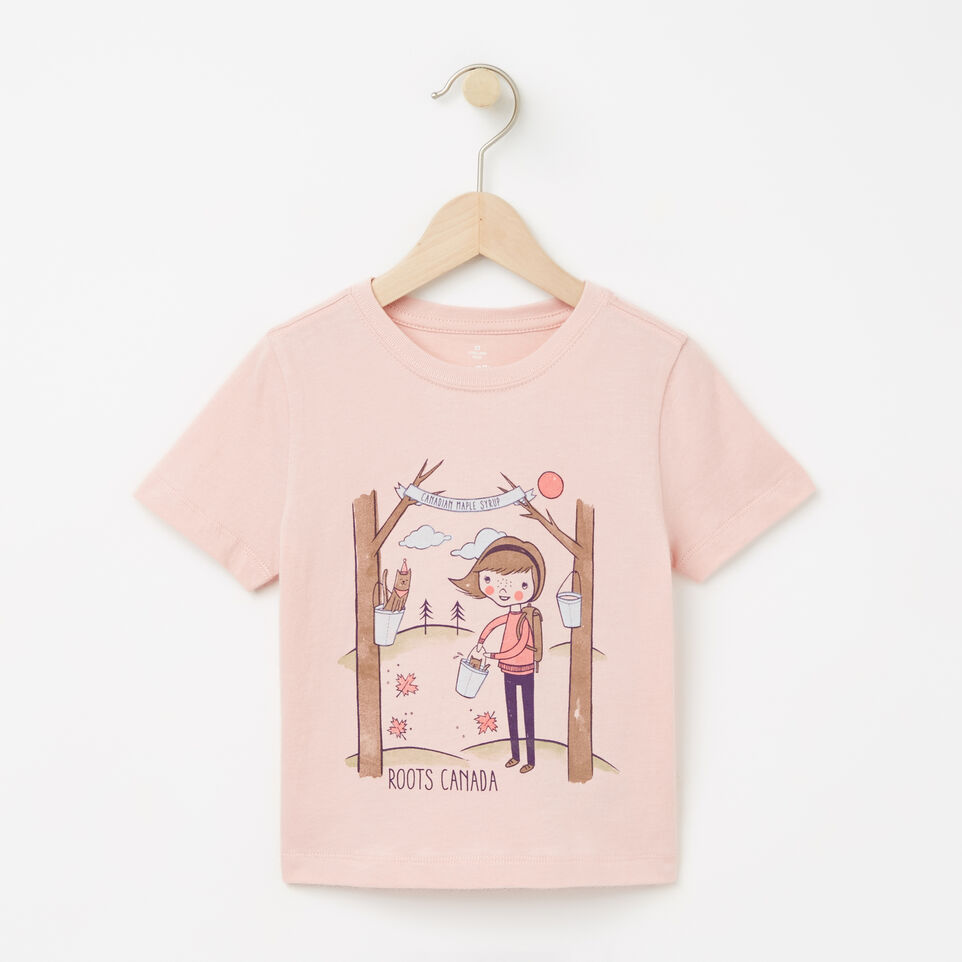 Roots-undefined-Toddler Ella Maple Festival T-shirt-undefined-A