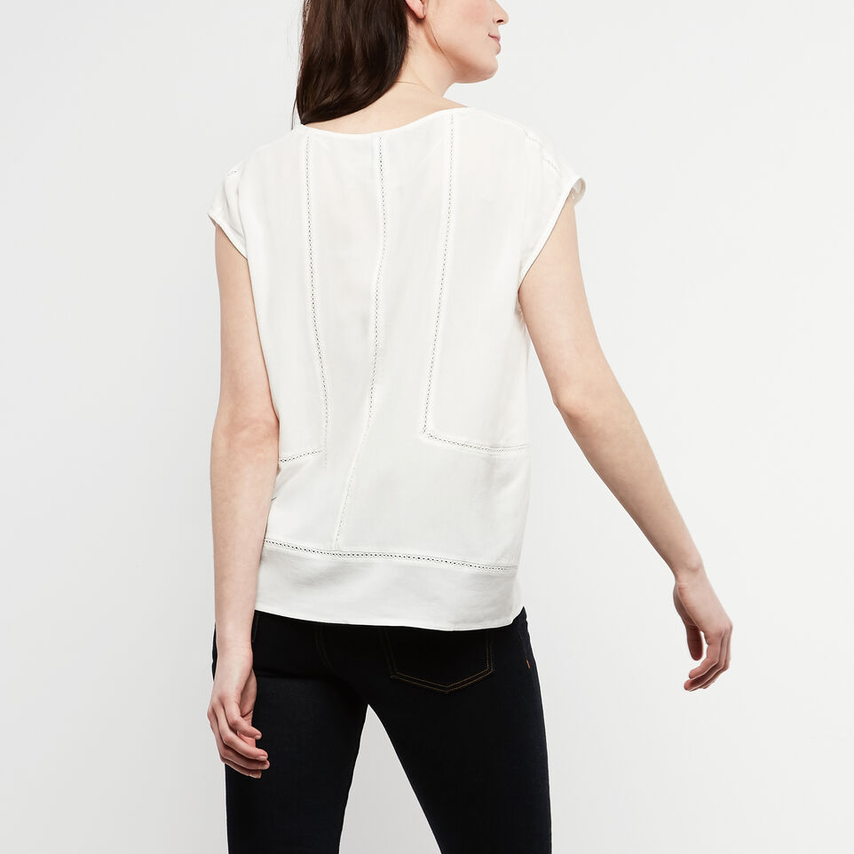 Roots-undefined-Willow Short Sleeve Top-undefined-D