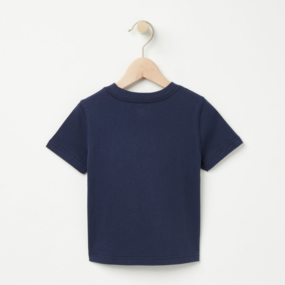 Roots-undefined-Tout-Petits T-shirt Fish N Chips-undefined-B