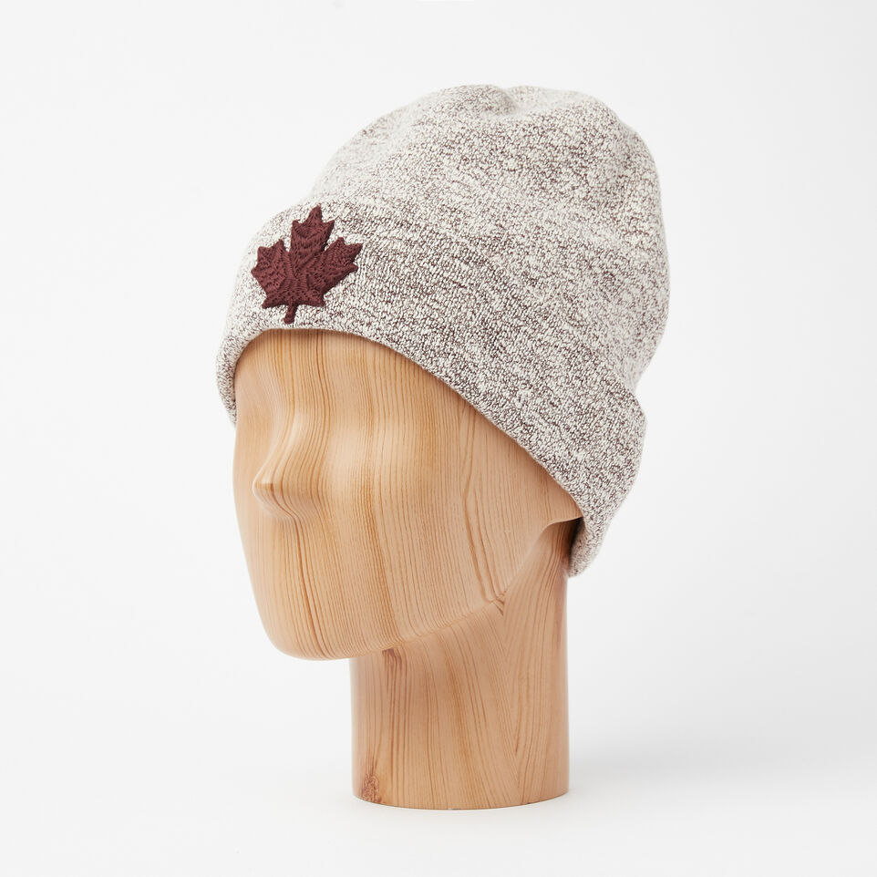 Roots-undefined-Snowy Fox Cuff Toque-undefined-B