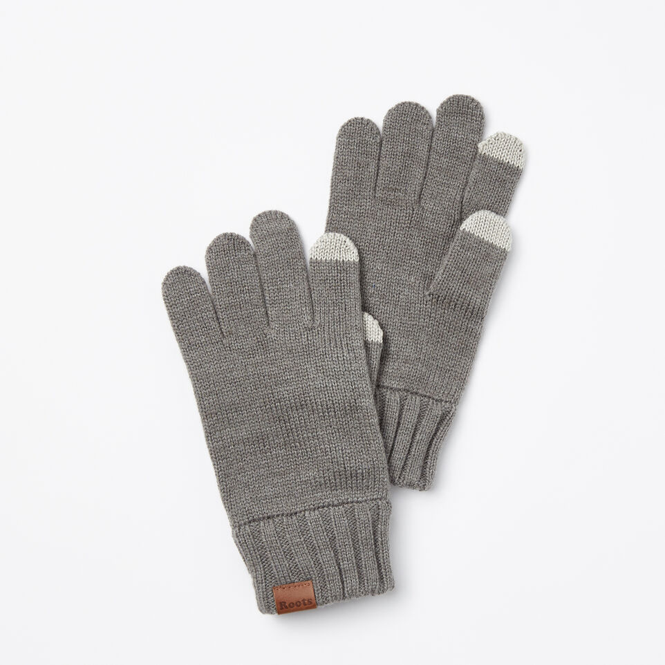 Roots-undefined-Mens Touch Screen Glove-undefined-A