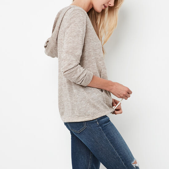 Roots-Women Sweaters & Cardigans-Amelia Pullover-Moonrock Mix-A