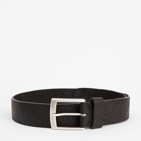 Roots-Men Belts-Mckay Belt-Black-A