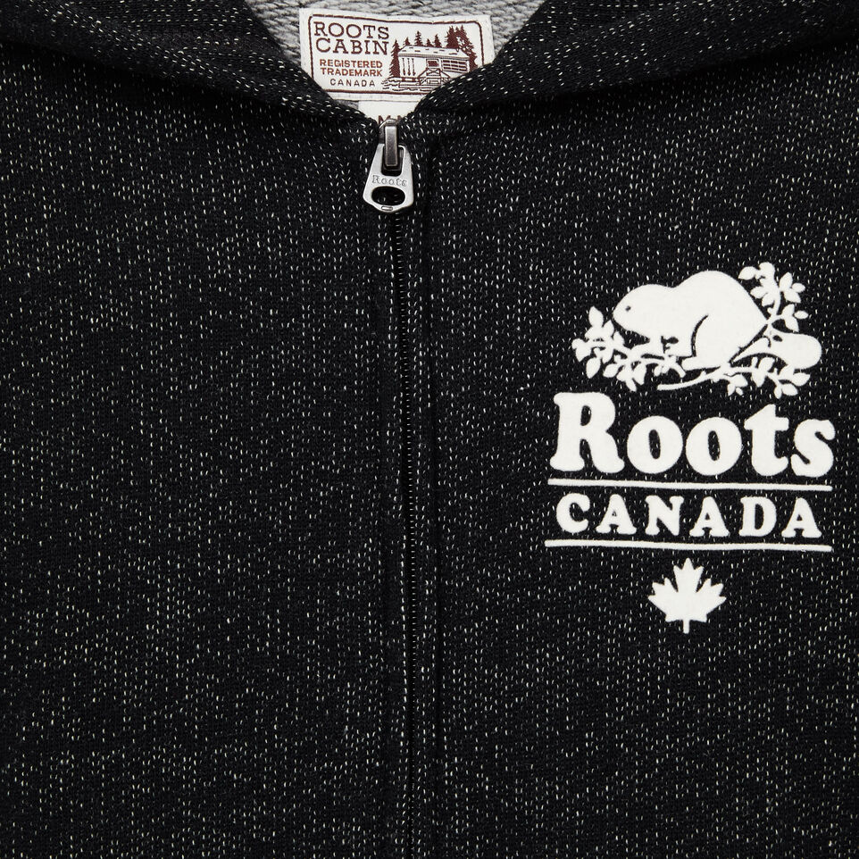 Roots-undefined-Boys Roots Cabin Full Zip Hoody-undefined-C