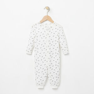 Roots-Kids New Arrivals-Baby's First Roots Sleeper-Cloudy White-A