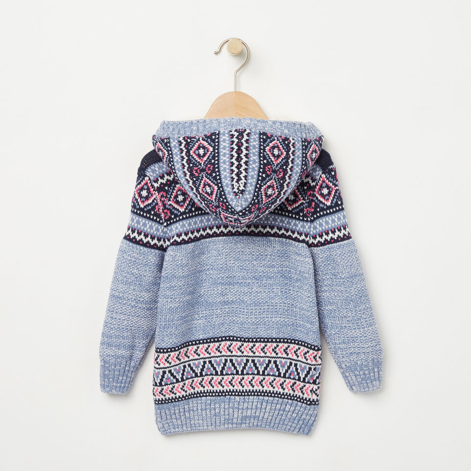 Roots-undefined-Toddler Fair Isle Hooded Sweater-undefined-B