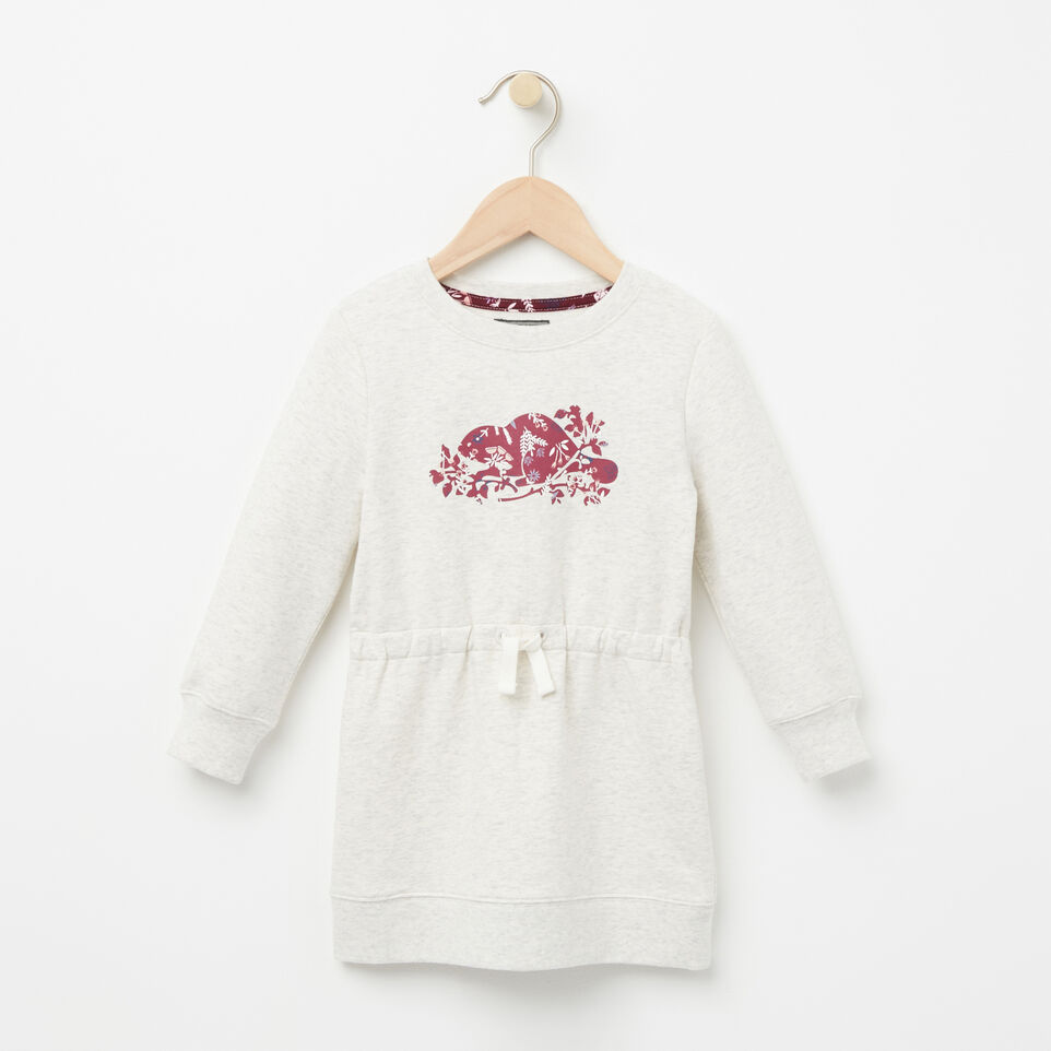 Roots-undefined-Tout-Petits Robe Molleton Dauphin-undefined-A