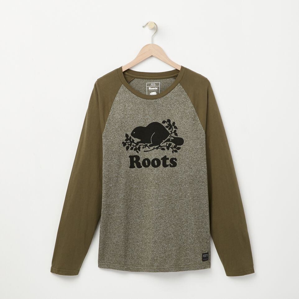 Roots-undefined-T shirt Manch Raglan Cooper Beaver-undefined-A