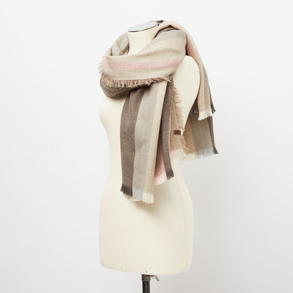 Roots-undefined-Kathleen Blanket Scarf-undefined-B