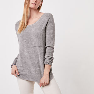 Roots-Women Sweaters & Cardigans-North Twin Sweater-Salt & Pepper-A