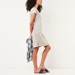 Roots-Women Dresses-Northway Dress-Grey Mix-A