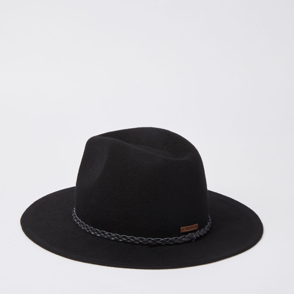 Roots-undefined-Annie Felt Fedora-undefined-C