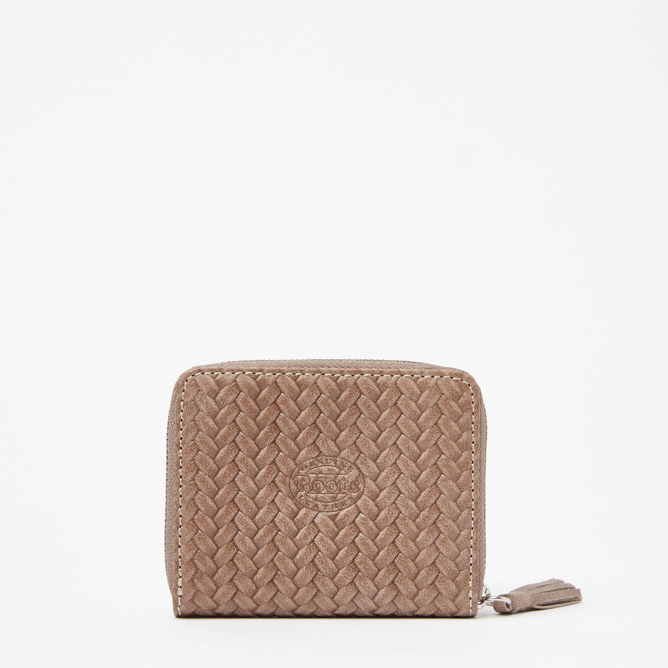 Roots-undefined-Petit Portefeuille Pampille Woven-undefined-C