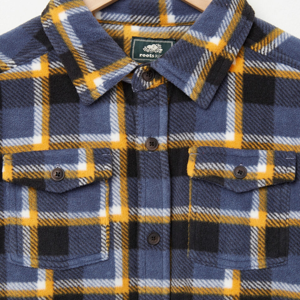Roots-undefined-Boys Lake Point Microfleece Shirt-undefined-C