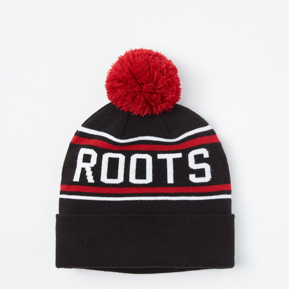 Roots-undefined-Pro Block Pom Pom Toque-undefined-A