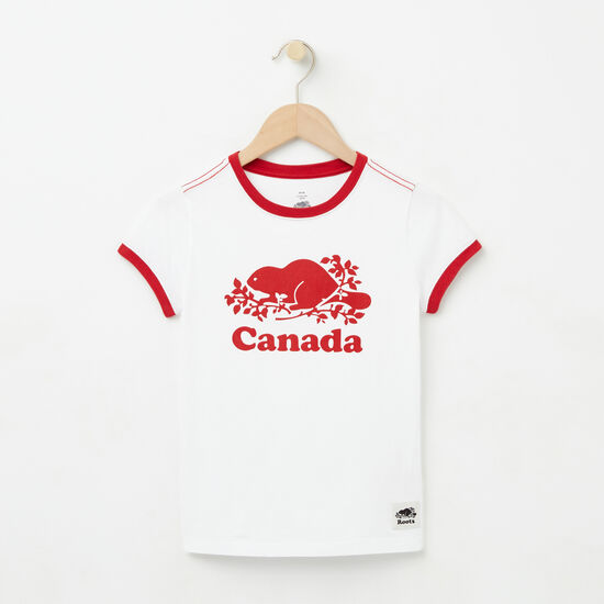 Girls Cooper Canada T-shirt