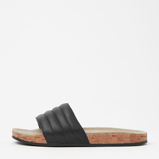 Roots-Shoes Sandals-Mens Roots Slide Tribe-Black-A