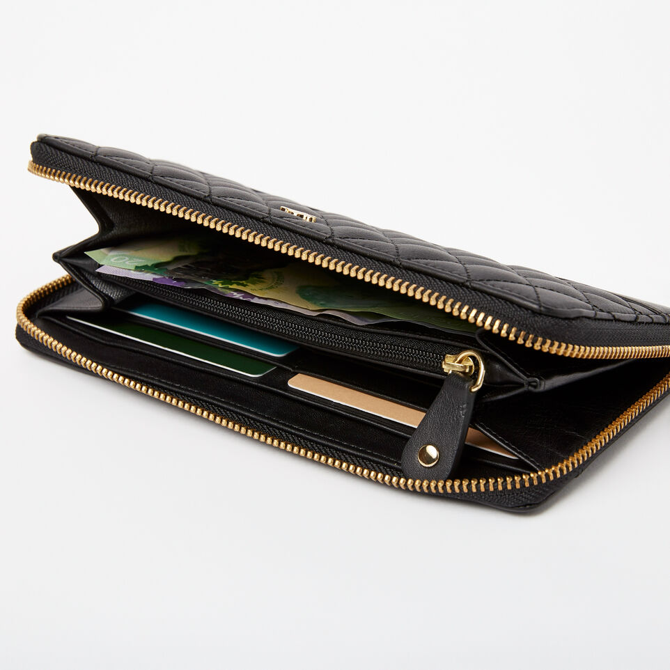 Roots-undefined-Two Toned Wallet Quilted-undefined-B