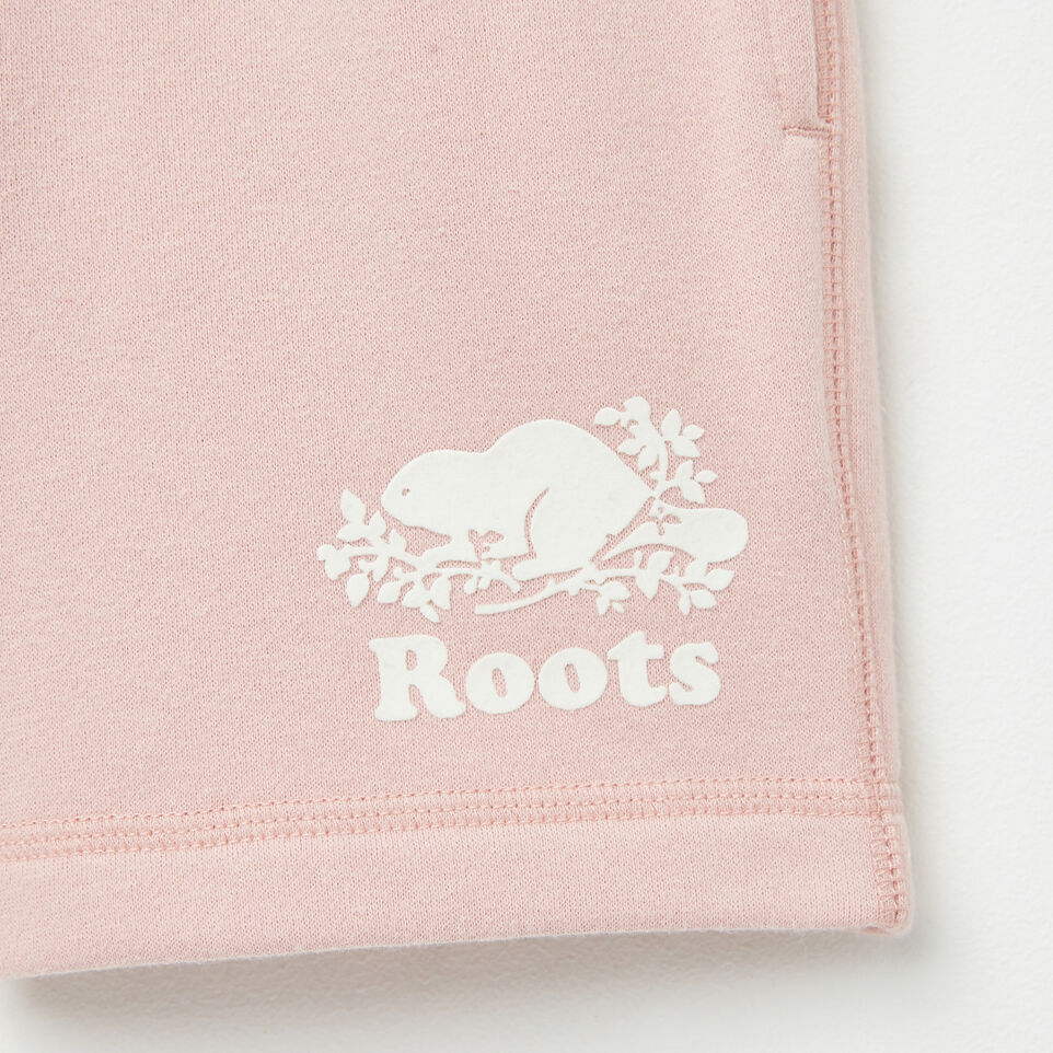 Roots-undefined-Girls Original Athletic Shorts-undefined-D