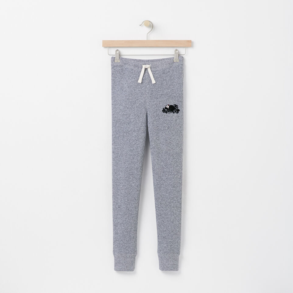 Roots-undefined-Girls Pom Pom Beaver Skinny Sweatpant-undefined-A