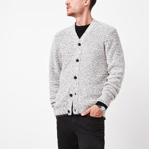 Roots-Gifts For Him-Polar Fox Cardigan-White Polar Fox-A