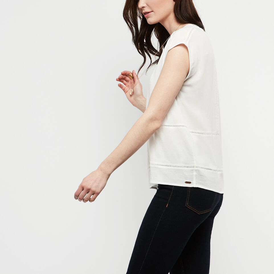Roots-undefined-Willow Short Sleeve Top-undefined-C