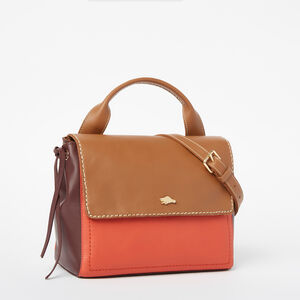 Roots-Leather Crossbody-Bella Bag Bridle-Tan-A