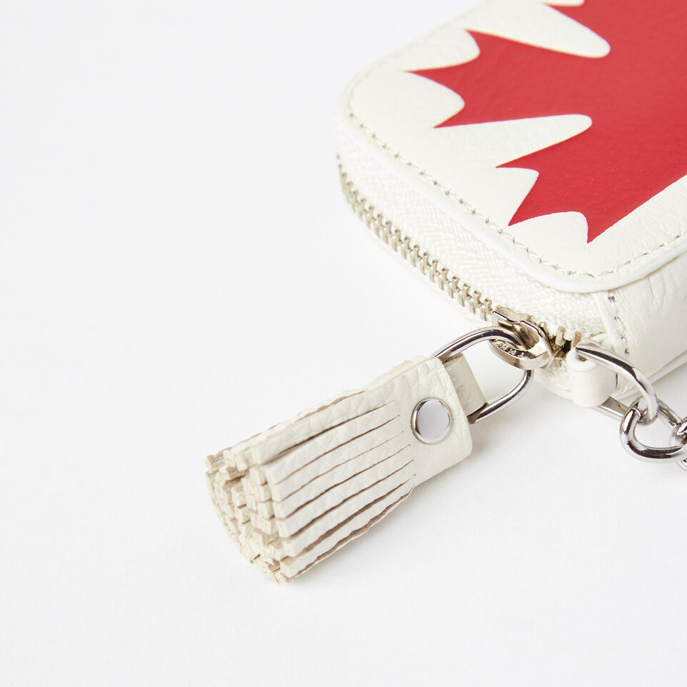 Roots-undefined-Canada Flag Key Chain Pouch Prince-undefined-C