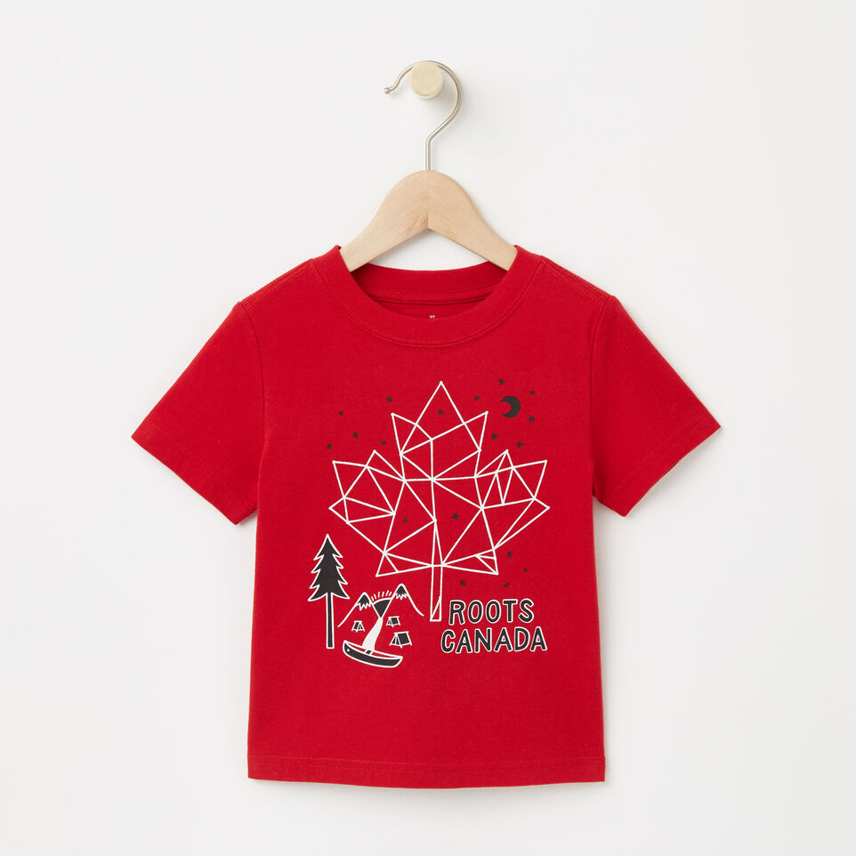 Roots-undefined-Toddler Glow Maple Constellation T-shirt-undefined-A
