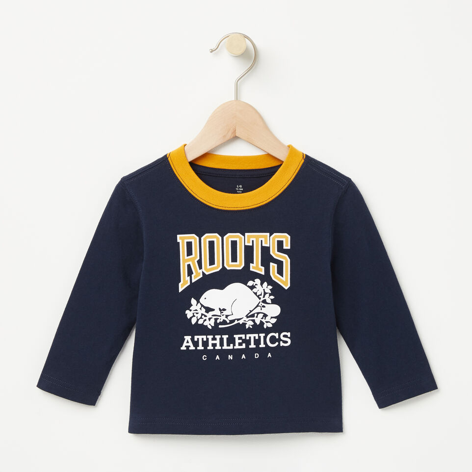Roots-undefined-Baby RBA Ringer T-shirt-undefined-A