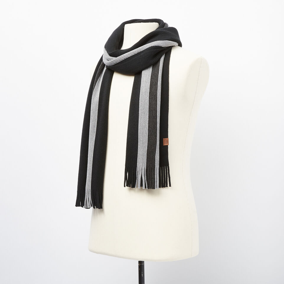 Roots-undefined-Log Cabin Stripe Scarf-undefined-B