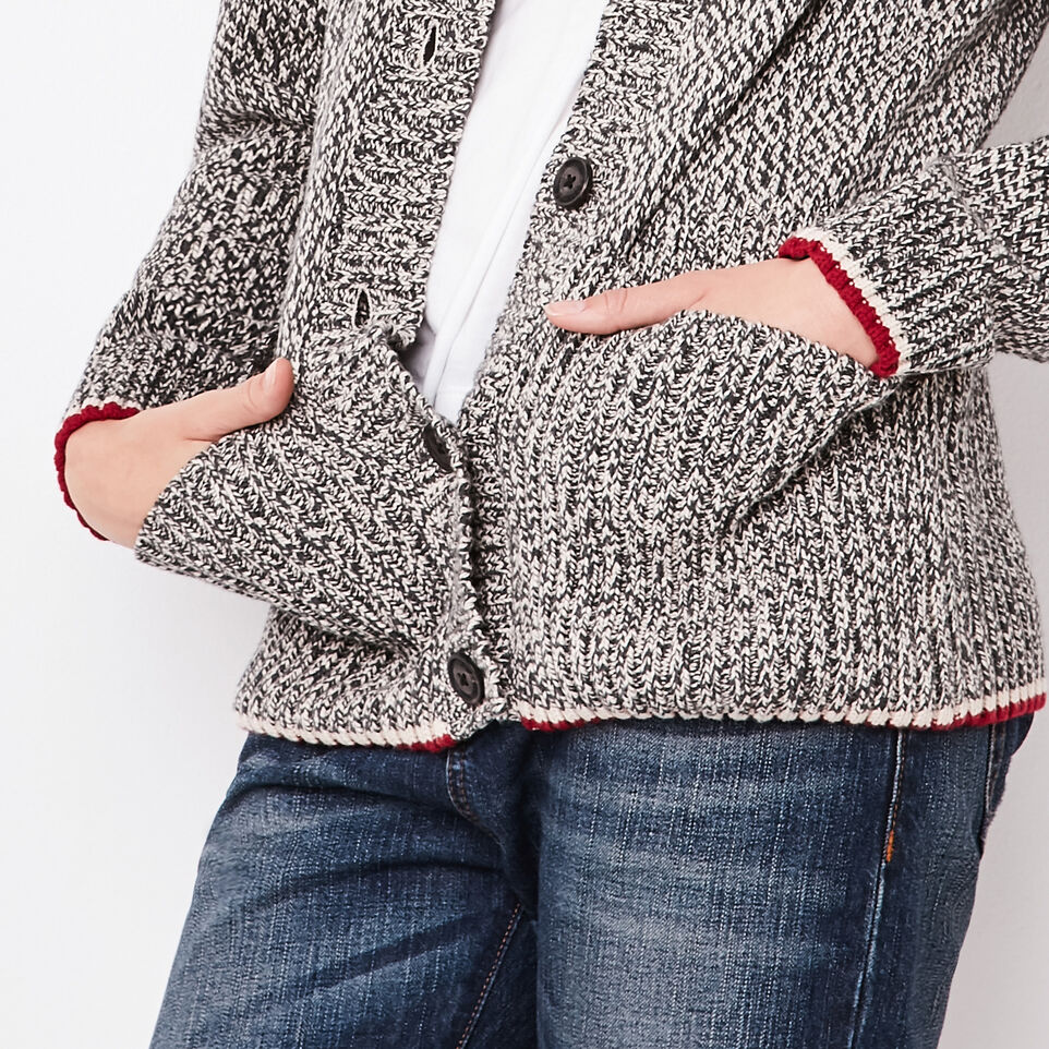 Roots-undefined-Cotton Cabin Shawl Sweater-undefined-E