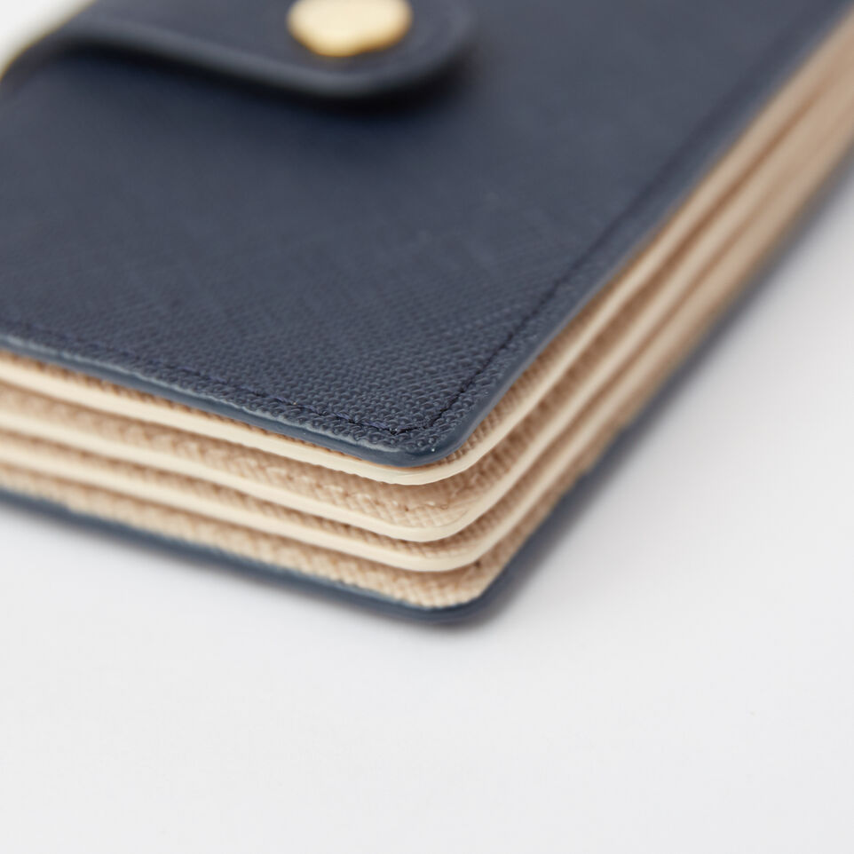 Roots-undefined-Multi Card Holder Saffiano-undefined-F