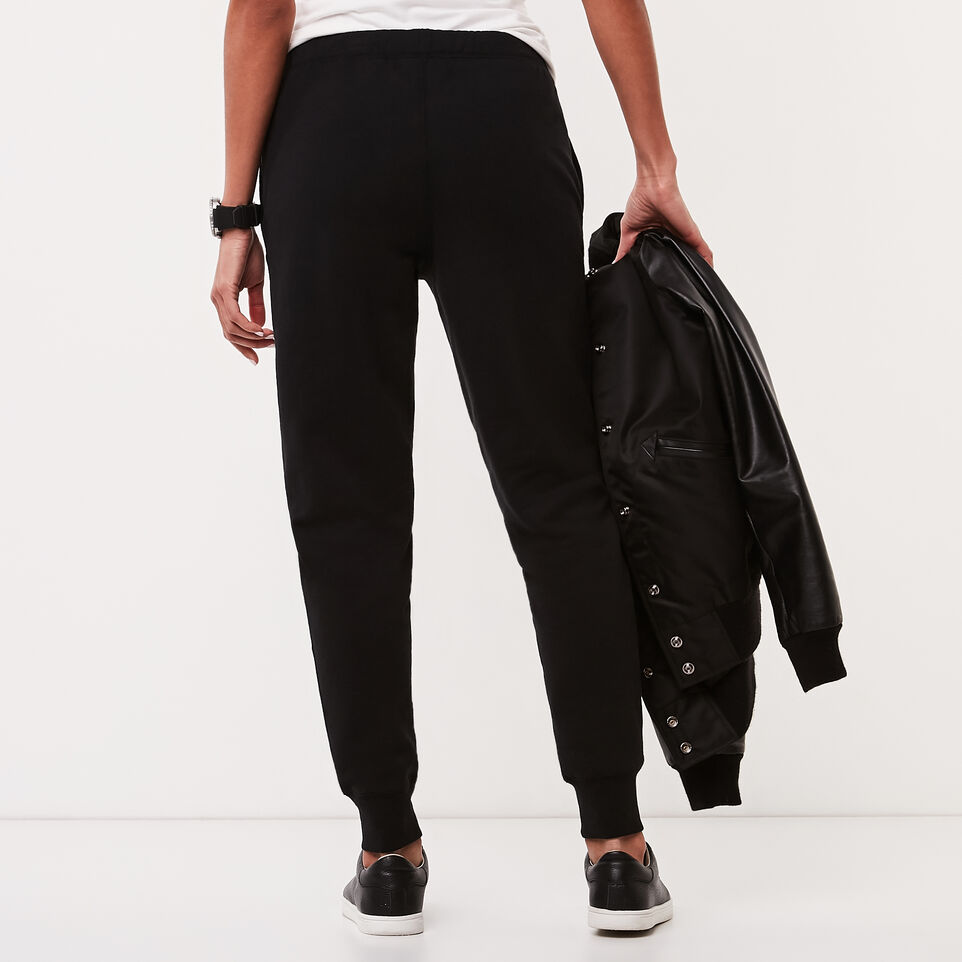 Roots-undefined-Pin Tuck Slim Cuff Sweatpant-undefined-D