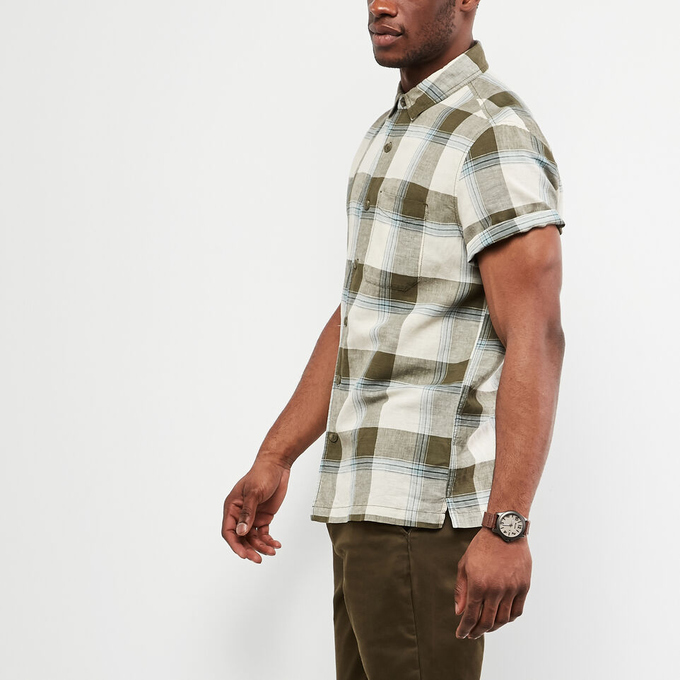 Roots-undefined-Foxley Short Sleeve Shirt-undefined-B
