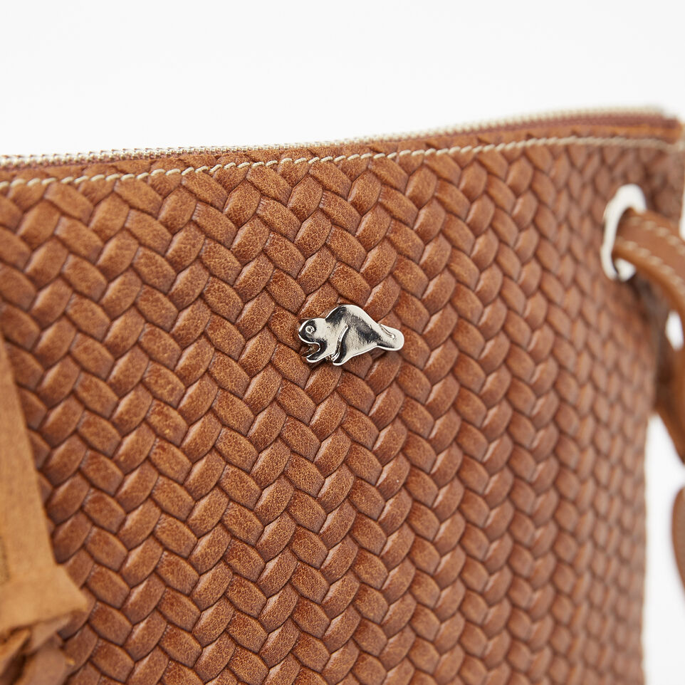 Roots-undefined-Sac Edie en cuir tressé Tribe-undefined-D