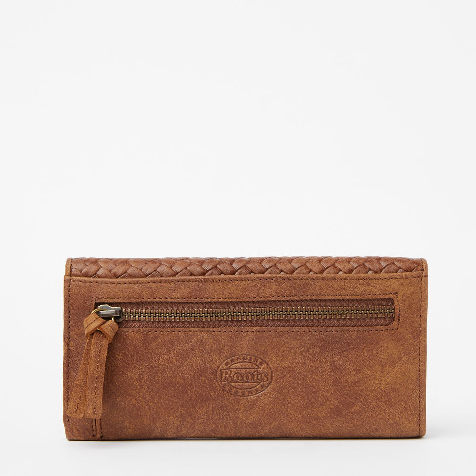 Roots-undefined-Medium Trifold Clutch Woven-undefined-C
