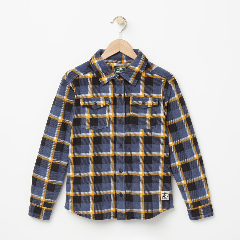 Roots-undefined-Boys Lake Point Microfleece Shirt-undefined-A