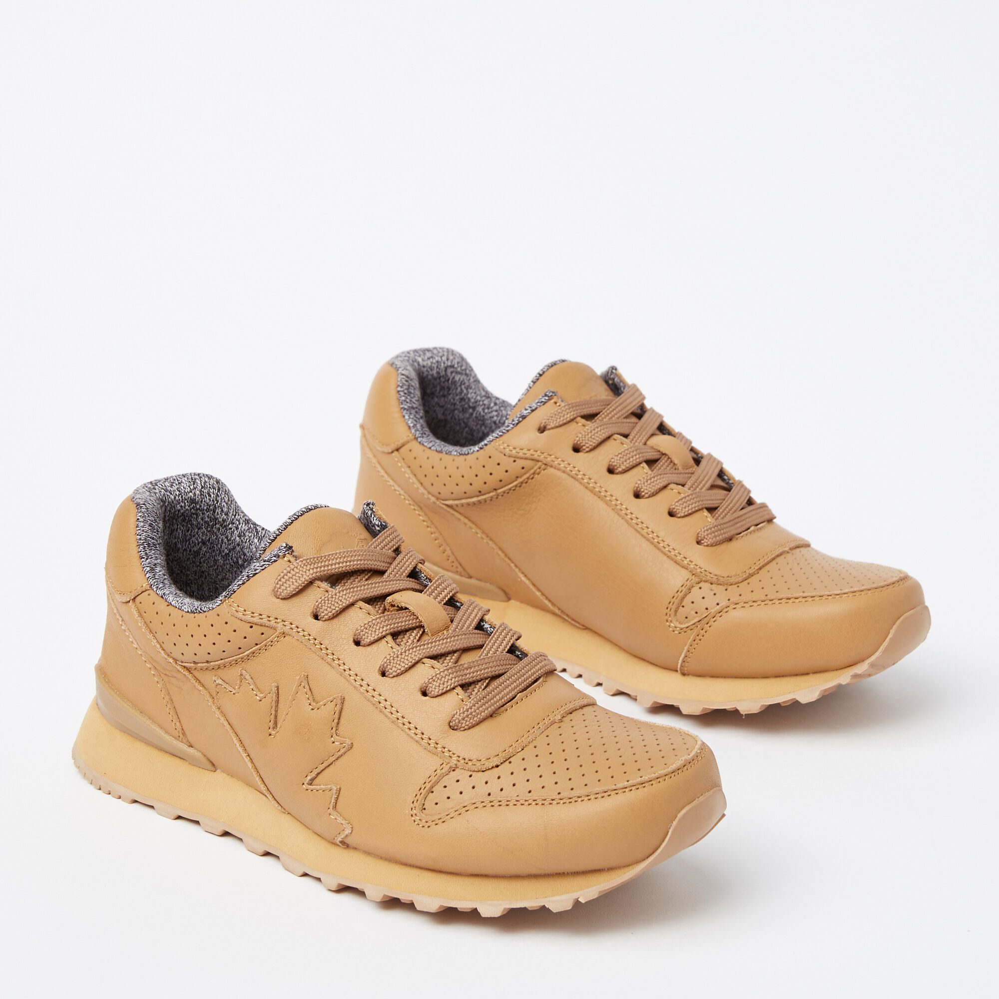 Womens Trans Canada Jogger Leather