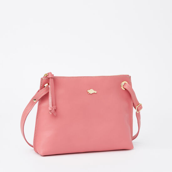 Roots-Women Bestsellers-Edie Bag Bridle-Rose Pink-A