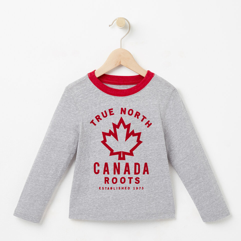 Roots-undefined-Toddler True North T-shirt-undefined-A