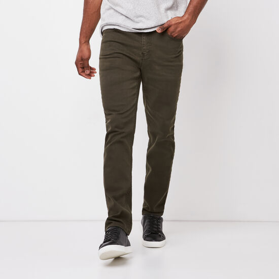 Roots-Men New Arrivals-New Albany 5 Pocket Pant-Rosin-A