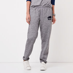 Roots-Women Bottoms-Original Sweatpant-Salt Pepper/nvy Blzr-A