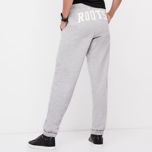 Roots-Women Boyfriend Sweatpants-Roots Boyfriend Sweatpant-Grey Mix-A